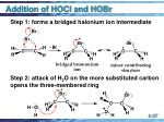 addition of hocl and hobr37