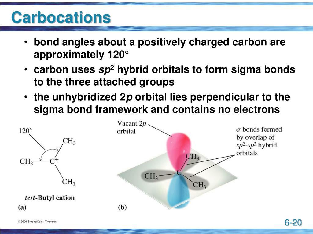 Carbocations