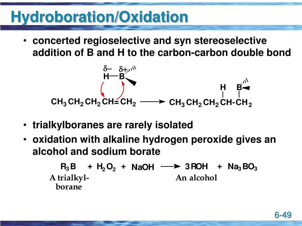 Hydroboration/Oxidation