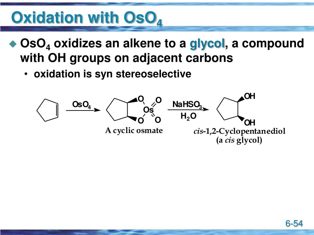 Oxidation with OsO