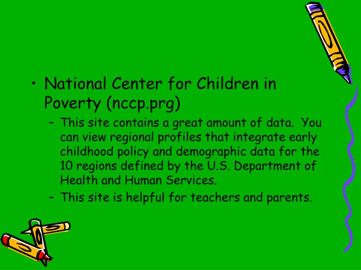 National Center for Children in Poverty (nccp.prg)