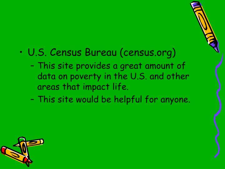 U.S. Census Bureau (census.org)