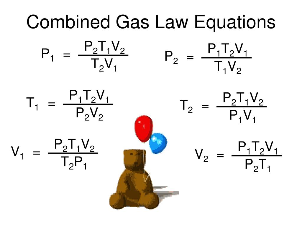 Ppt t h e c o m b i n e d g a s l a w powerpoint combined gas law equations lg p1t2v1 robcynllc Image collections