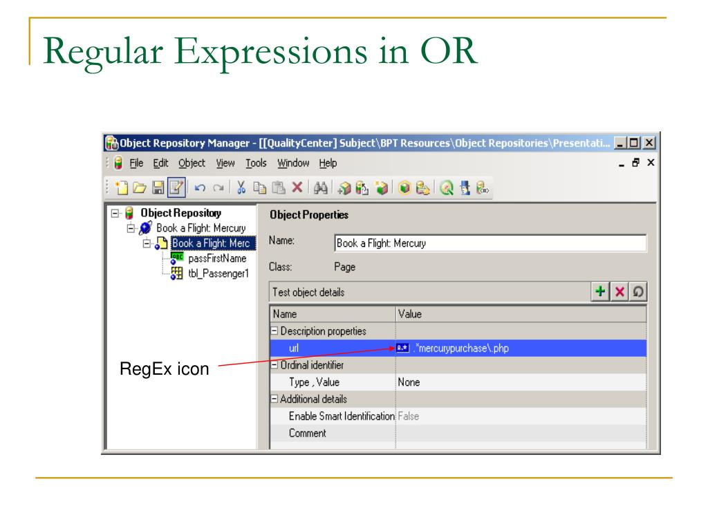 Regular Expressions in OR