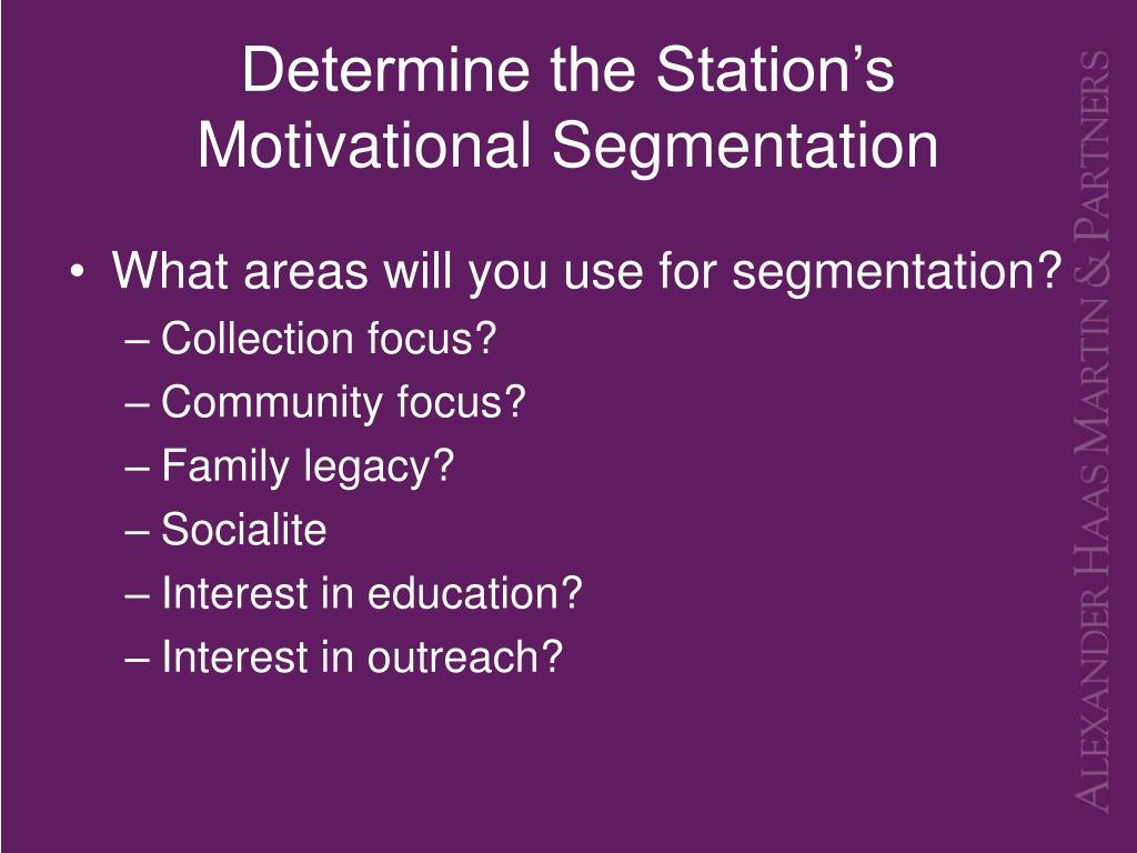 Determine the Station's