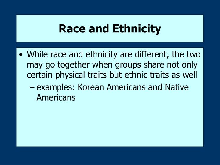 Race and ethnicity3