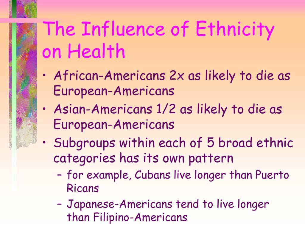 African-Americans 2x as likely to die as European-Americans