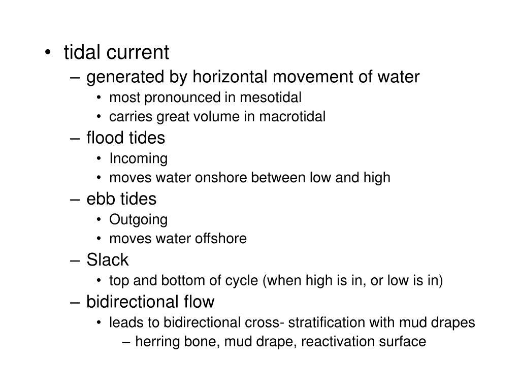 tidal current