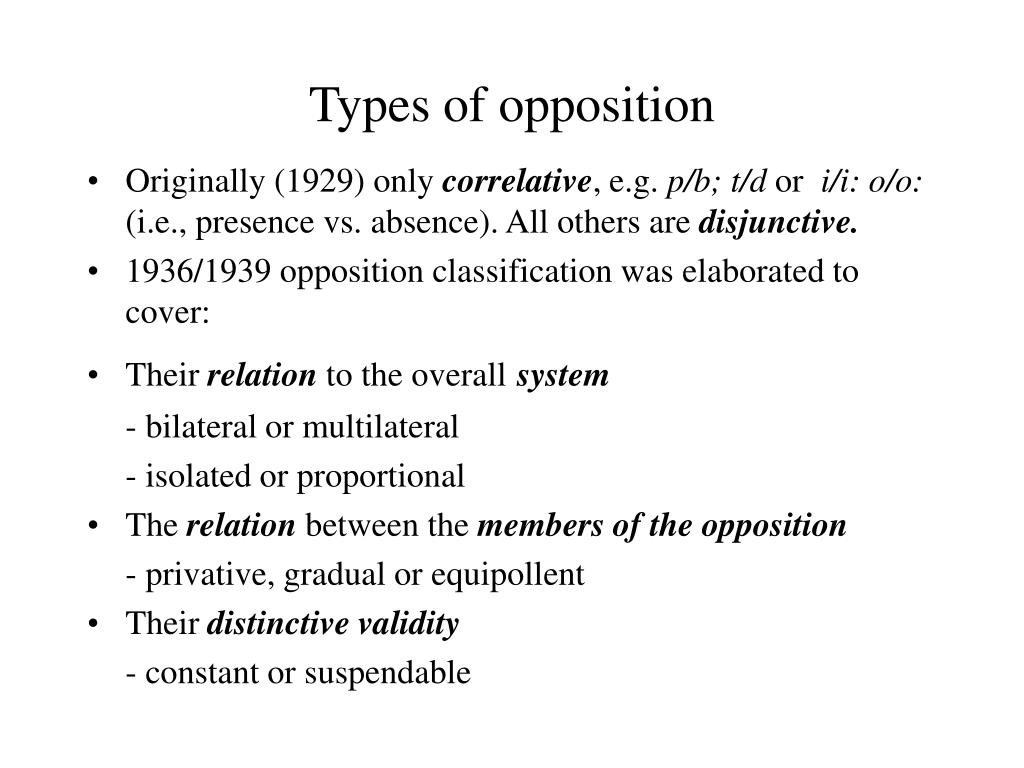 opposition in theorretical linguistics The erosion of the boundaries between theoretical and applied linguistics evidence from speech act theory dumitru chitoran preliminaries any attempt to draw a principled dividing line between theoretical linguistics (tl) and applied in opposition to the locutionary meaning which.