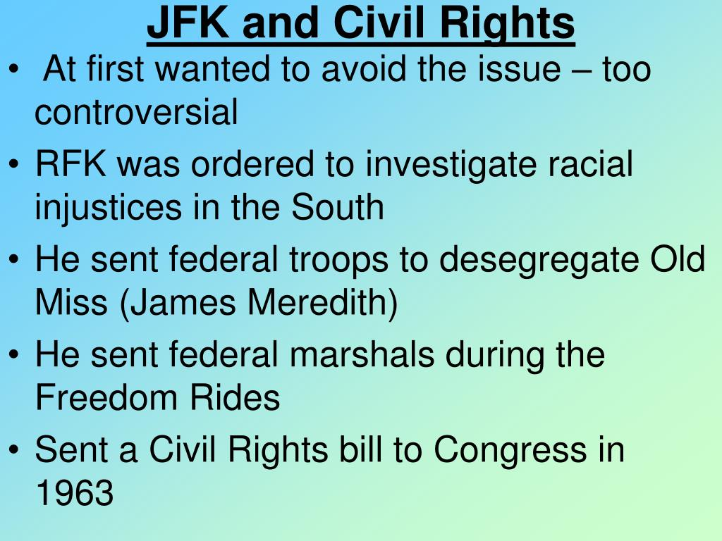 JFK and Civil Rights