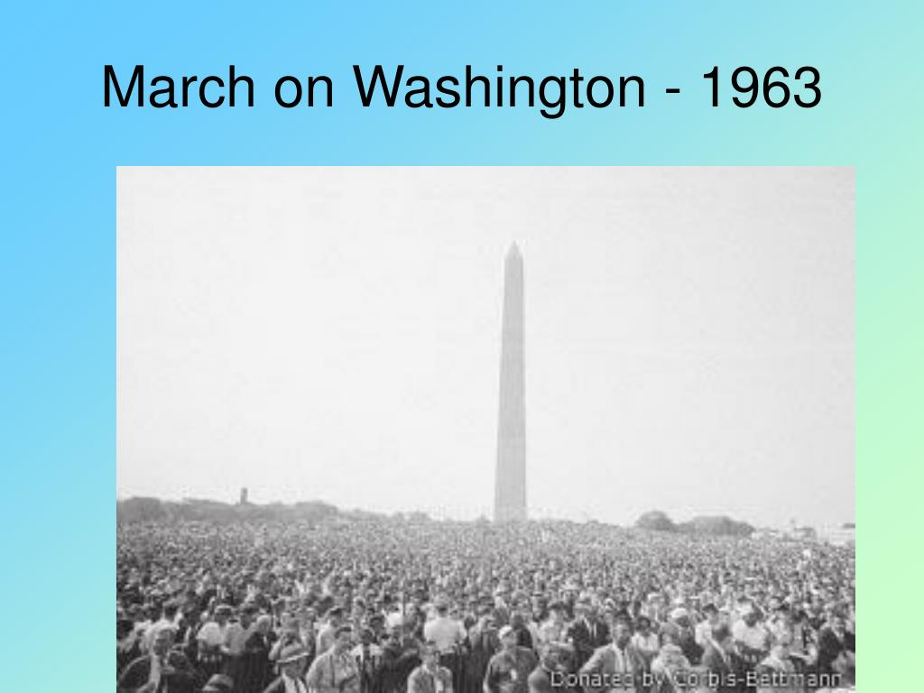 March on Washington - 1963