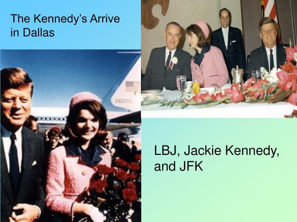 The Kennedy's Arrive in Dallas