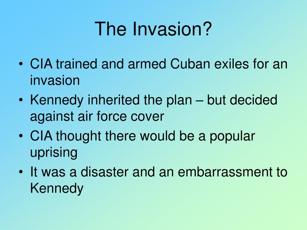 The Invasion?