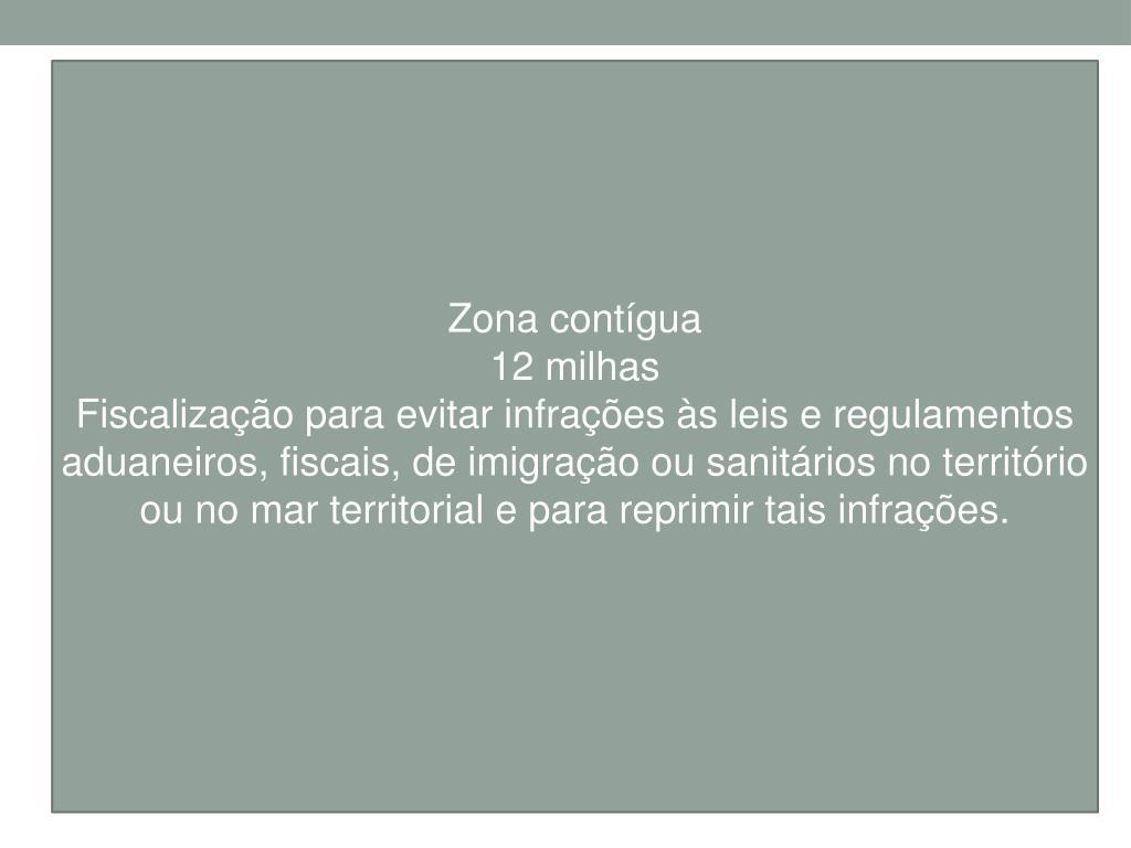 Zona contígua