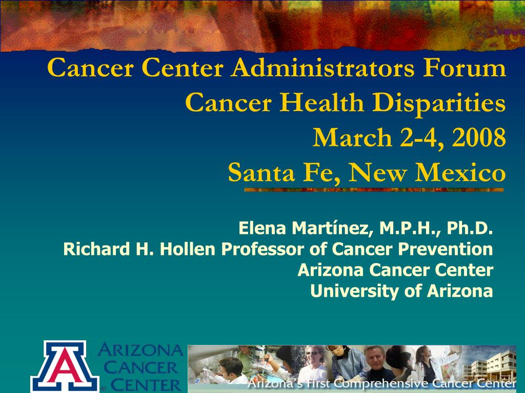 Cancer Center Administrators Forum