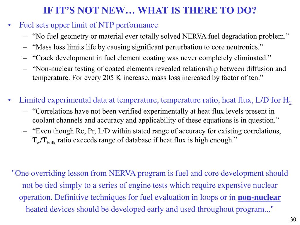 IF IT'S NOT NEW… WHAT IS THERE TO DO?