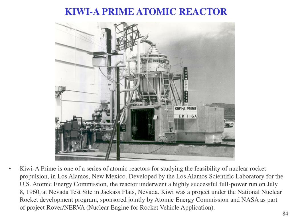 KIWI-A PRIME ATOMIC REACTOR