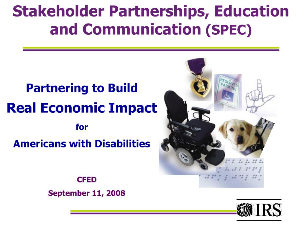 Stakeholder Partnerships, Education and Communication