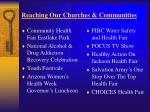reaching our churches communities
