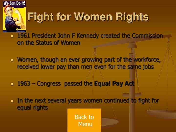 Fight for Women Rights