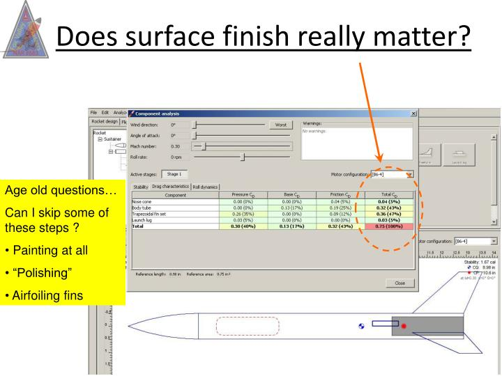 Does surface finish really matter?