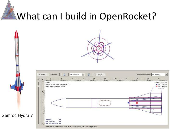 What can I build in OpenRocket?