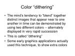 color dithering