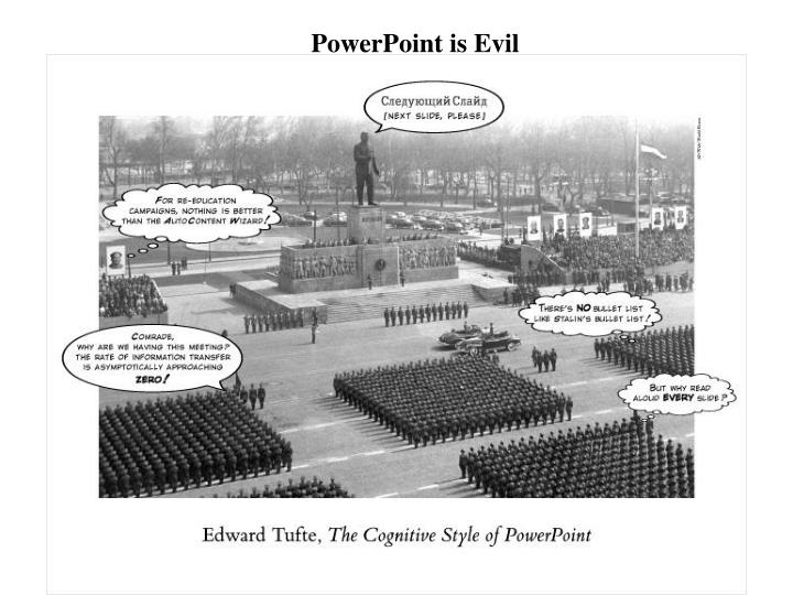 PowerPoint is Evil