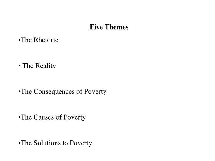 Five Themes