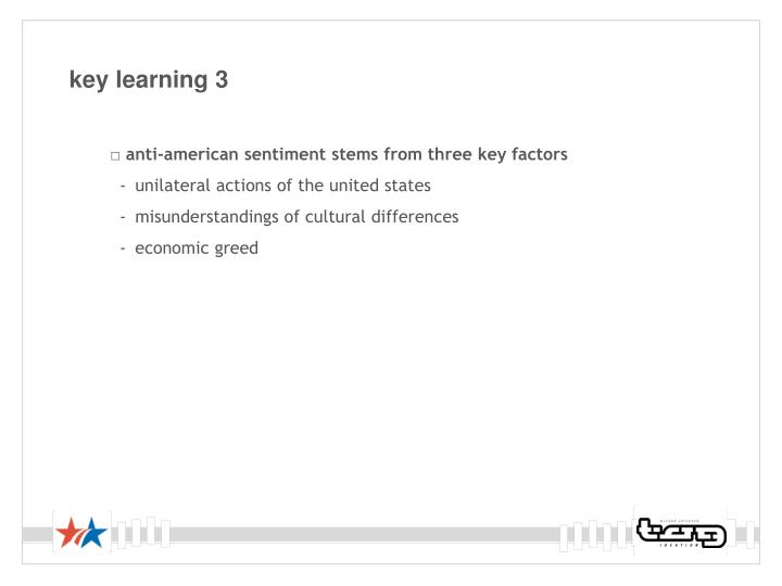 key learning 3