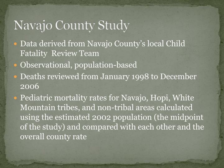 Navajo County Study