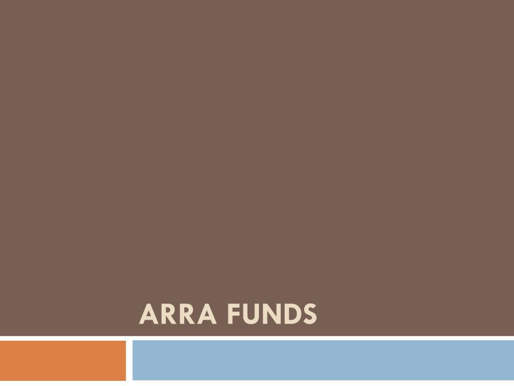 ARRA FUNDS