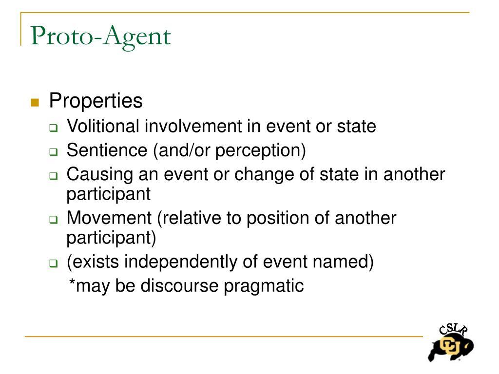 Proto-Agent