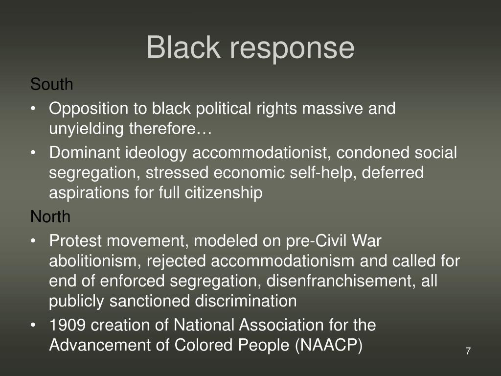 Black response