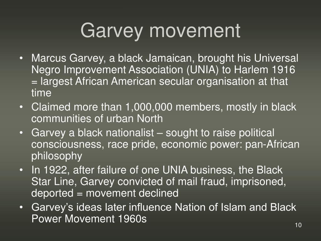 Garvey movement