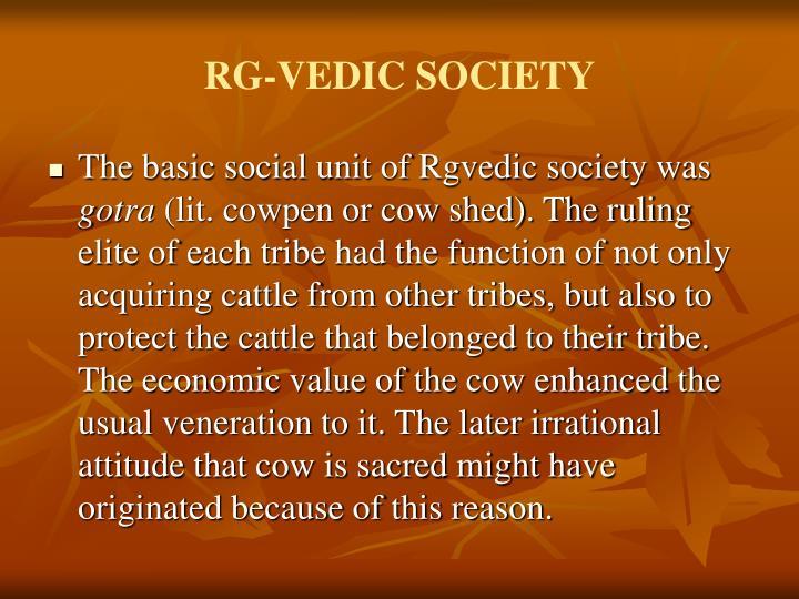 RG-VEDIC SOCIETY