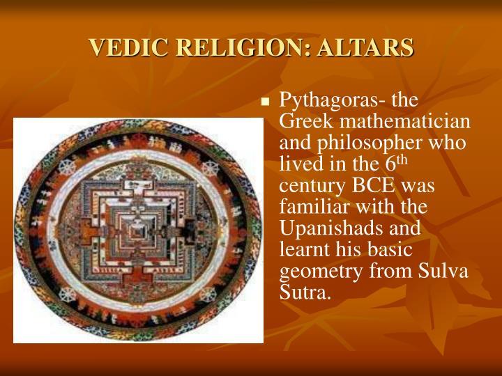 VEDIC RELIGION: ALTARS