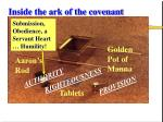 inside the ark of the covenant20