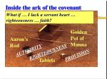 inside the ark of the covenant23