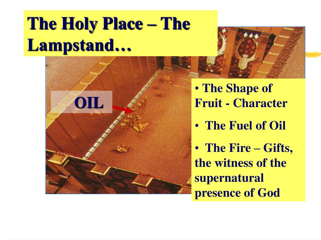 The Holy Place – The Lampstand…