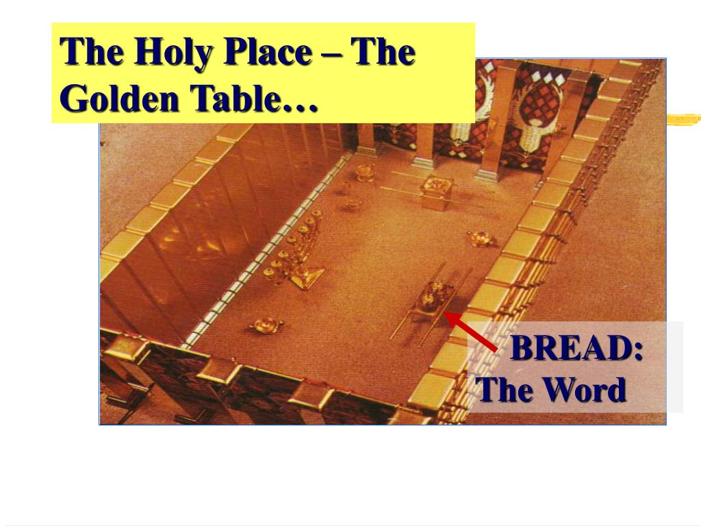 The Holy Place – The Golden Table…