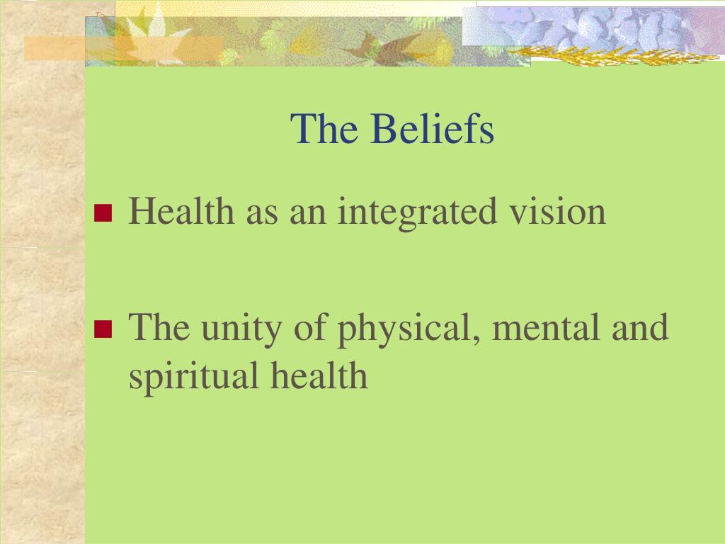 The Beliefs