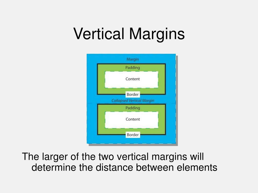 Vertical Margins