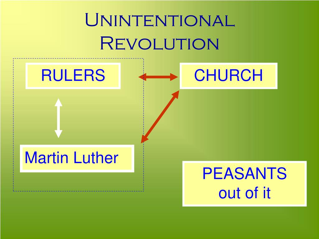 Unintentional Revolution