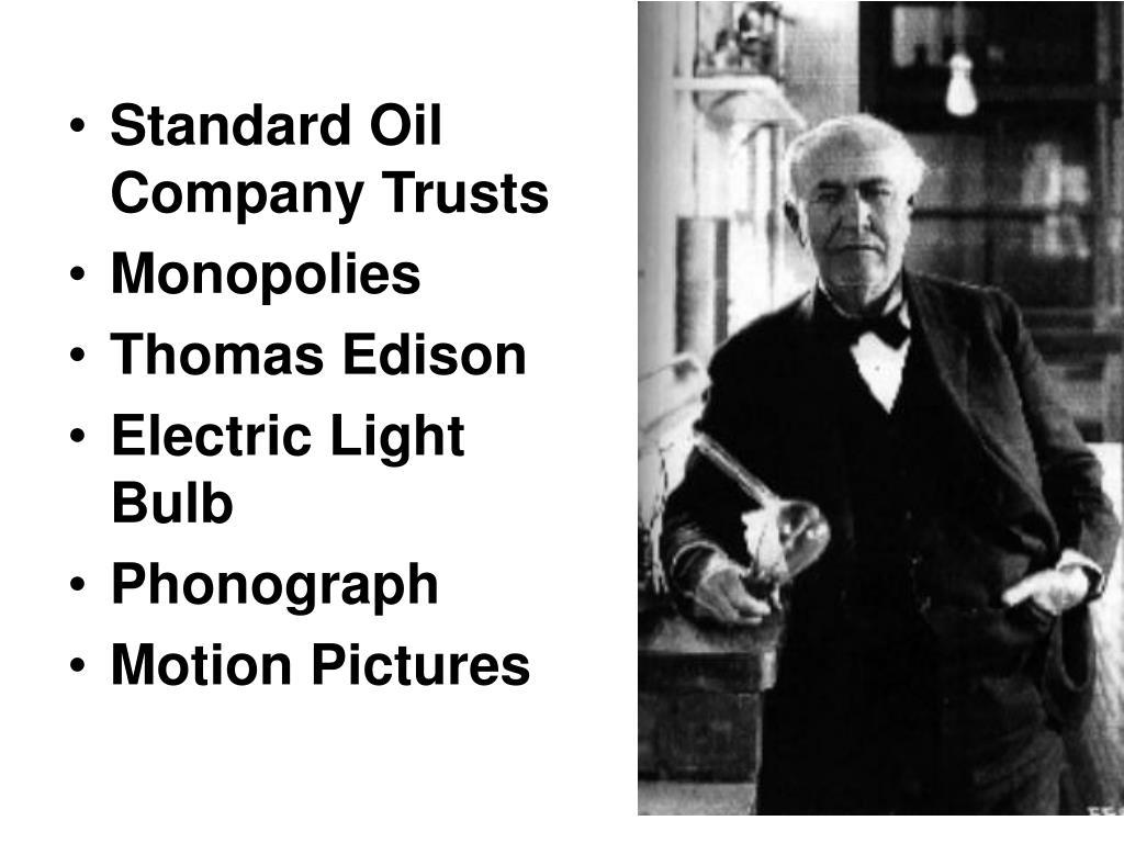 Standard Oil Company Trusts