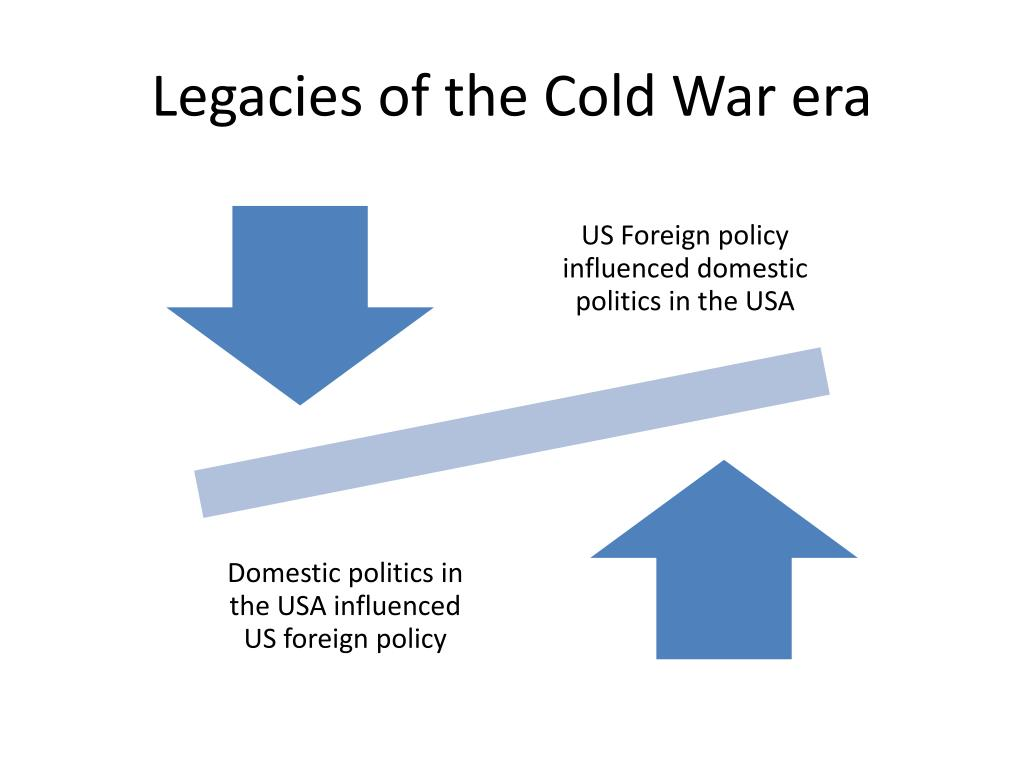 Legacies of the Cold War era