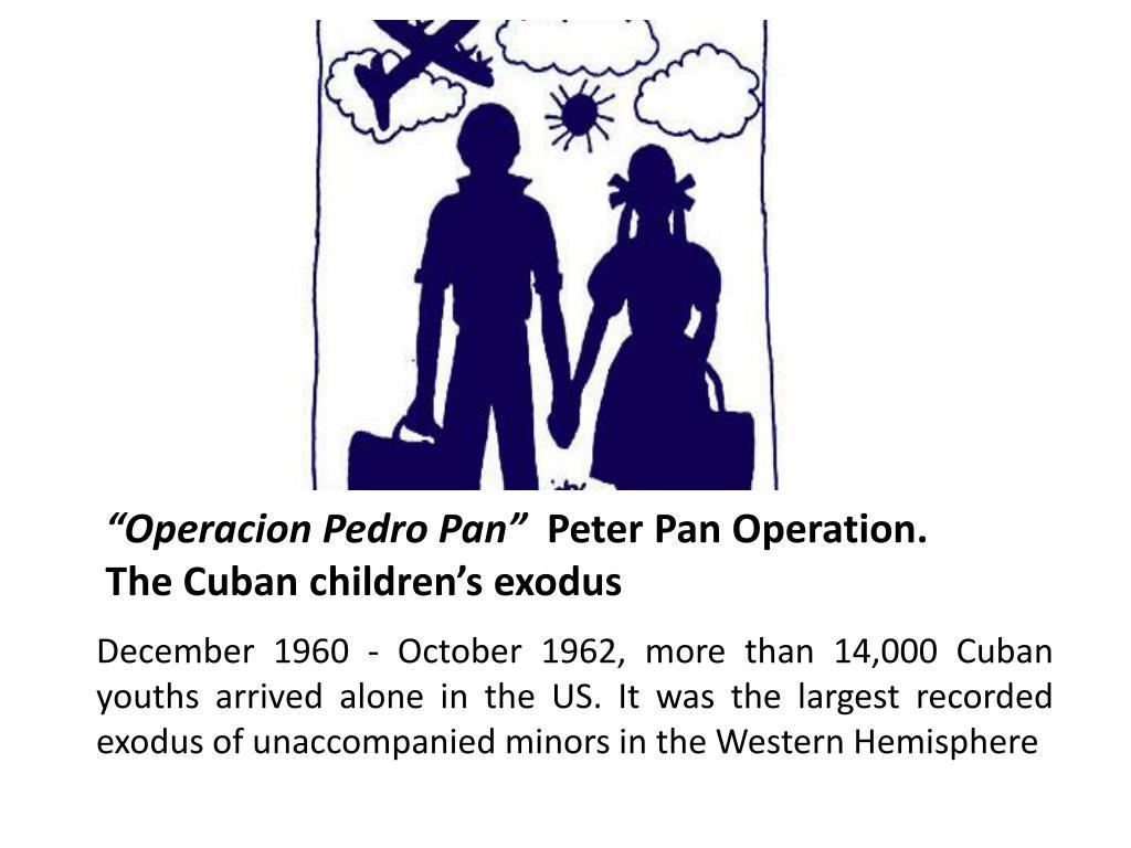 """""""Operacion Pedro Pan"""""""