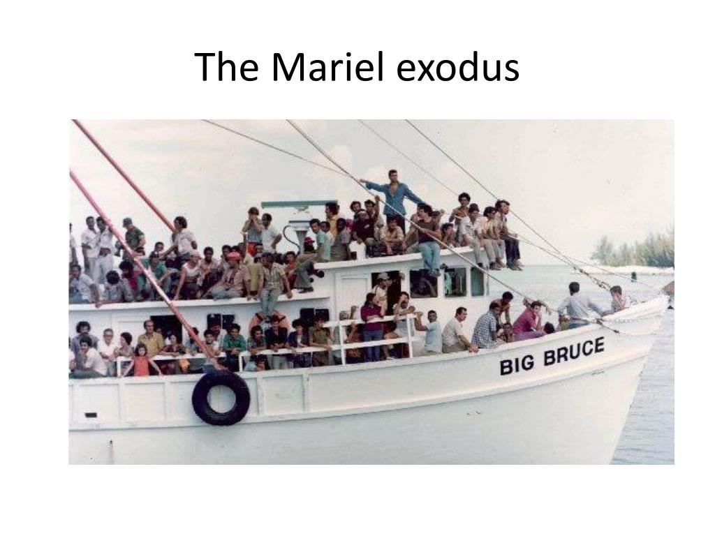 The Mariel exodus