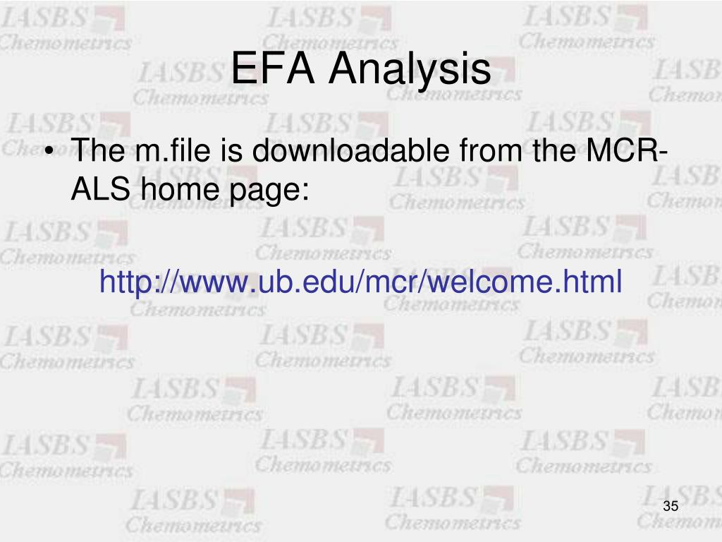 EFA Analysis