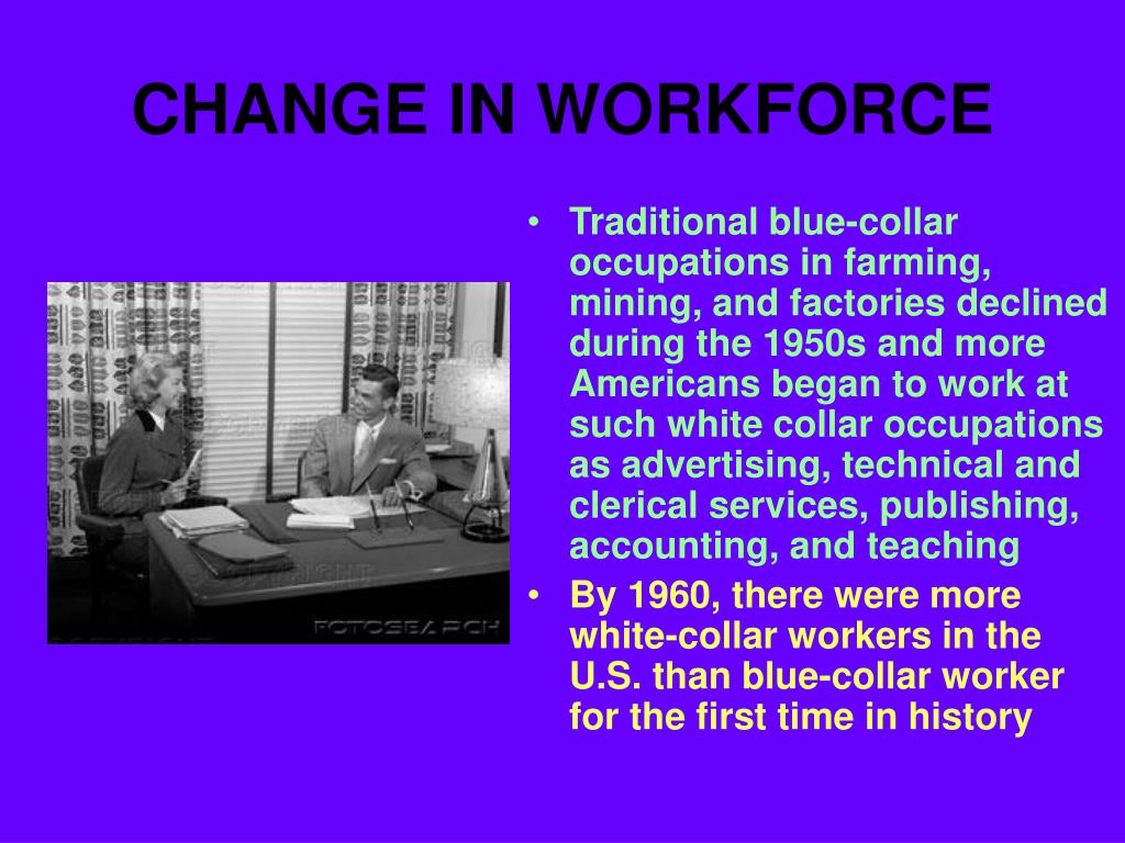 CHANGE IN WORKFORCE